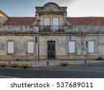 an old  broken and closed door...   Shutterstock . vector #537689011