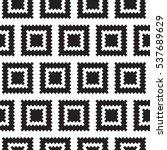 geometric squares seamless... | Shutterstock .eps vector #537689629