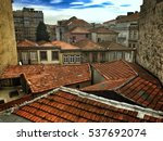 Roof Of Houses On The Old Part...