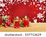 christmas festive. | Shutterstock . vector #537713629