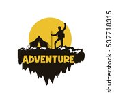 adventure logo | Shutterstock .eps vector #537718315