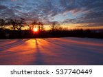winter morning 3 | Shutterstock . vector #537740449