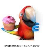 fun parrot   3d illustration | Shutterstock . vector #537741049