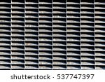 speaker grille texture light... | Shutterstock . vector #537747397