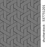 seamless zigzag lines pattern.... | Shutterstock .eps vector #537751201
