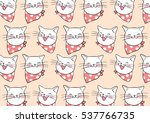 vector illustration pattern... | Shutterstock .eps vector #537766735