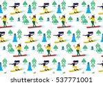 snowboarding | Shutterstock .eps vector #537771001