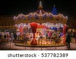 bucharest  romania   december... | Shutterstock . vector #537782389
