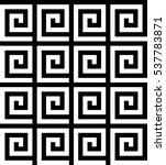 vector seamless pattern.... | Shutterstock .eps vector #537783871
