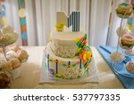 Sweet Birthday Cake For A Child