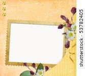 framework for photo or... | Shutterstock . vector #53782405