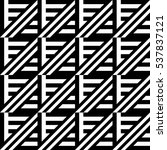 vector seamless pattern.... | Shutterstock .eps vector #537837121
