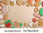 Tasty Gingerbread Cookies On...