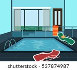 swimming pool | Shutterstock .eps vector #537874987