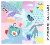 artistic background.modern...   Shutterstock .eps vector #537881365