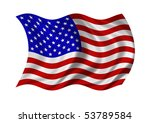 flag of the united states of... | Shutterstock . vector #53789584