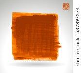 brush stroke and texture.... | Shutterstock .eps vector #537897274