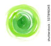 Big Bright Green Circle Painte...