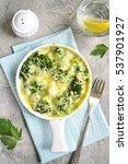 Broccoli Cauliflower Gratin In...