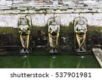 bathing temple figures at the... | Shutterstock . vector #537901981