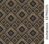 seamless pattern in art deco... | Shutterstock .eps vector #537902251