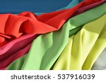 synthetic fabric fabric... | Shutterstock . vector #537916039