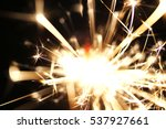christmas sparkler  holiday ... | Shutterstock . vector #537927661