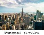 new york city   july 16 2016 ... | Shutterstock . vector #537930241