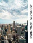 new york city   july 16 2016 ... | Shutterstock . vector #537930259