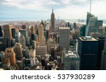 new york city   july 16 2016 ... | Shutterstock . vector #537930289