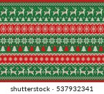 merry christmas and new year... | Shutterstock .eps vector #537932341