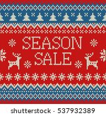merry christmas and new year... | Shutterstock .eps vector #537932389