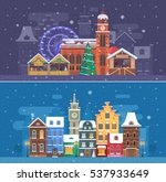 Snow City Landscapes With...