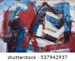 abstract art background. oil... | Shutterstock . vector #537942937