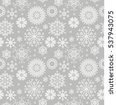 cute seamless pattern with... | Shutterstock .eps vector #537943075