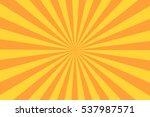 retro sunburst ray in vintage... | Shutterstock .eps vector #537987571