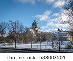 Saint Joseph Oratory With Snow...