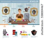professional jeweler...   Shutterstock .eps vector #538004467