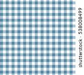 Blue Seamless Gingham And...