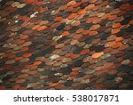 Small photo of The pattern of hexahedral tiles