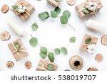 creative arrangement frame of... | Shutterstock . vector #538019707