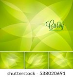 curvy abstract background.... | Shutterstock .eps vector #538020691