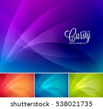 curly  abstract background... | Shutterstock .eps vector #538021735