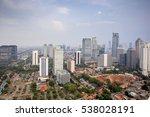 view of jakarta city  indonesia   Shutterstock . vector #538028191