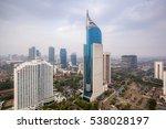 wisma 46 is a 262 m tall... | Shutterstock . vector #538028197