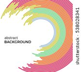 abstract vector illustration... | Shutterstock .eps vector #538028341