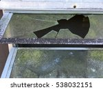 old moldy mildew broken window | Shutterstock . vector #538032151