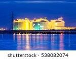 petrochemical industrial oil... | Shutterstock . vector #538082074