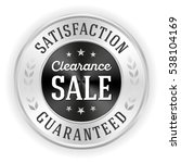 luxury black clearance sale... | Shutterstock .eps vector #538104169