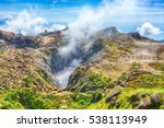 Steam Rising From The Crater L...